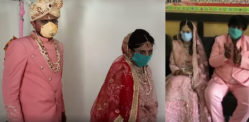 Indian Family marries Daughter restricted by Coronavirus