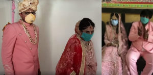 Indian Family marries Daughter restricted by Coronavirus f