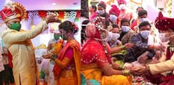 Indian Weddings take place with Masks On during COVID-19