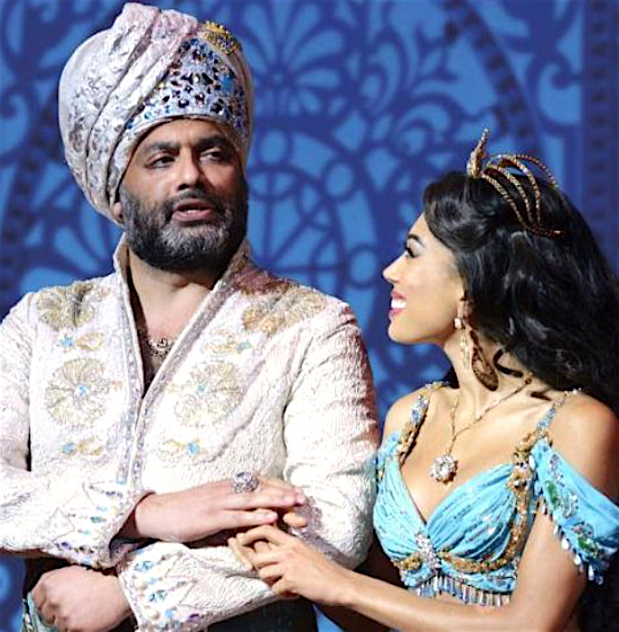 Irvine Iqbal talks Theatre, South Asian Talent & Inspiration - aladdin