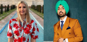 Ivanka Trump thanks Diljit Dosanjh for Taj Mahal Trip f
