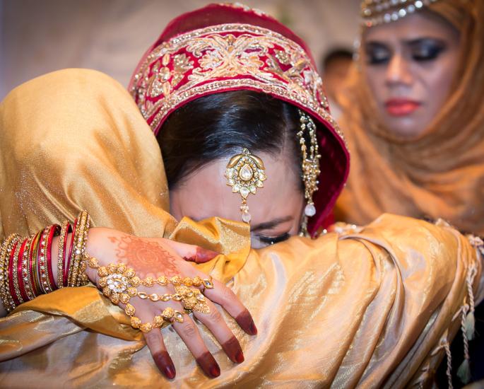 Most popular Pakistani Wedding Traditions - crying