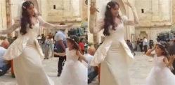 'दिलबर दिलबर' के हिट गाने पर नोरा फतेही और छोटी लड़की ने किया डांस