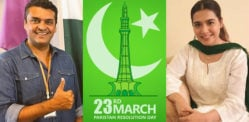 Pakistan Resolution Day unites Celebrities against Coronavirus