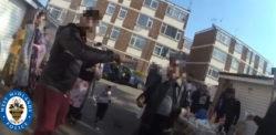 પોલીસે યુકે લ Lકડાઉનને નકારી કા BBનારા 20 લોકોને બી.બી.ક્યુ
