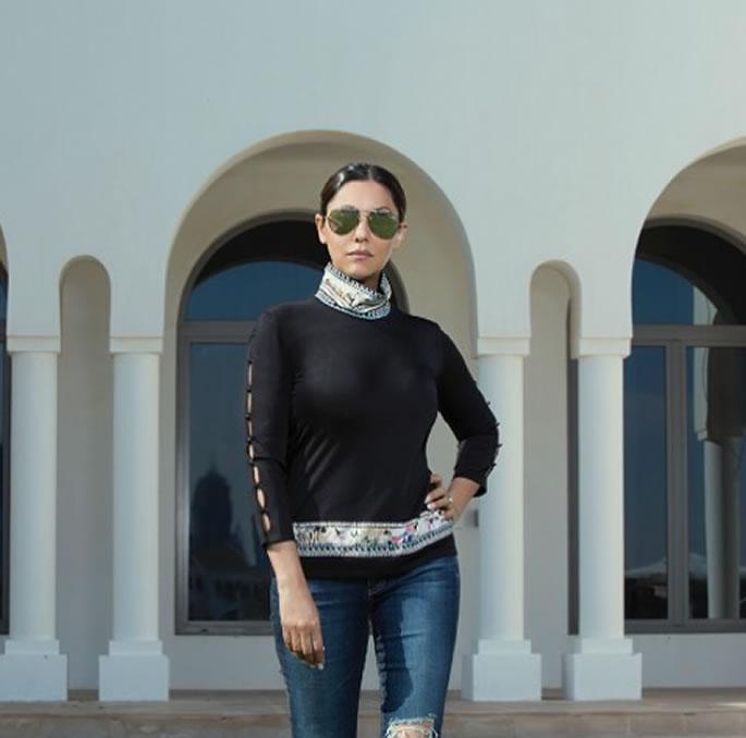SRK & Gauri Khan's $2.7m Villa named 'Jannat' in Dubai - outside