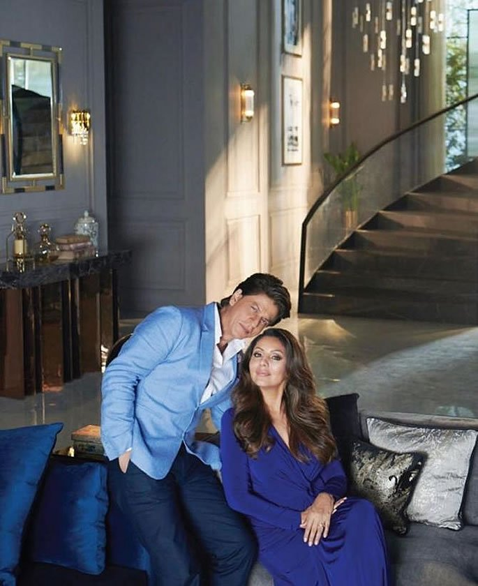 SRK & Gauri Khan's $2.7m Villa named 'Jannat' in Dubai - pair