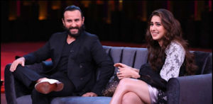 Saif says 'A little bit of Teasing is Good' for daughter Sara f