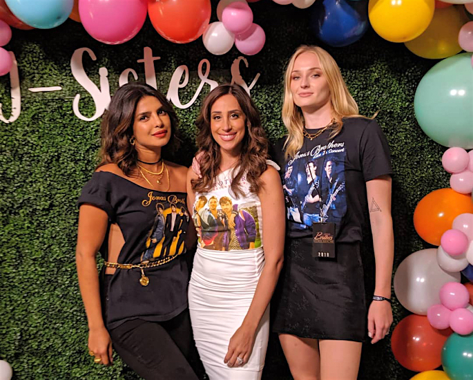 Sophie Turner says Sis-in-Law Priyanka is 'worshipped' in India - trio