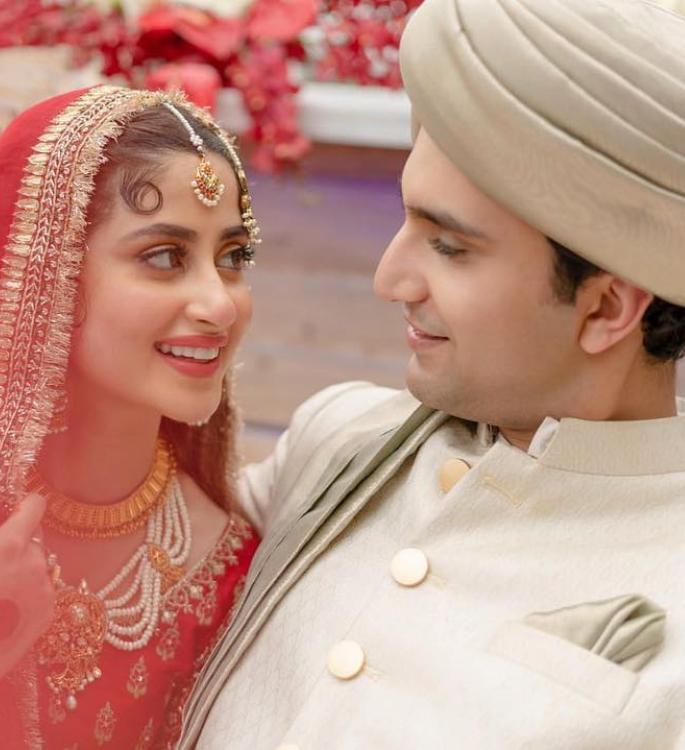 আবুধাবিতে বিয়ে করেছেন টিভি তারকা সজল আলী ও আহাদ রাজা মীর wedding