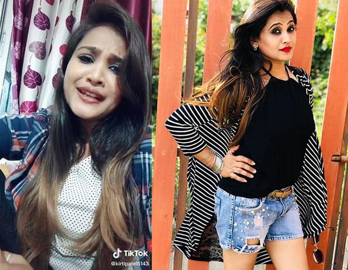 TikTok Star Kirti Patel arrested for Attempted Murder - profile