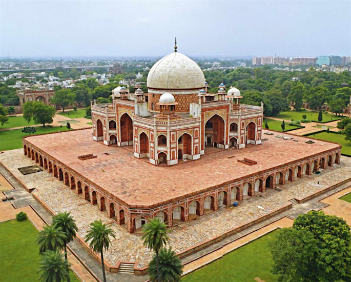 Top 5 Forms of Mughal Architecture - Tomb of Humayun