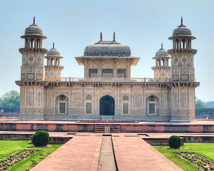 Top 5 Forms of Mughal Architecture - Tomb of Itmad-ud-Daulah