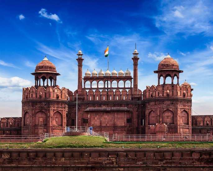 Top 5 Forms of Mughal Architecture - red fort