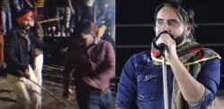 Violence & Fights erupt at Babbu Maan Concert