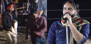 Violence & Fights erupt at Babbu Maan Concert f