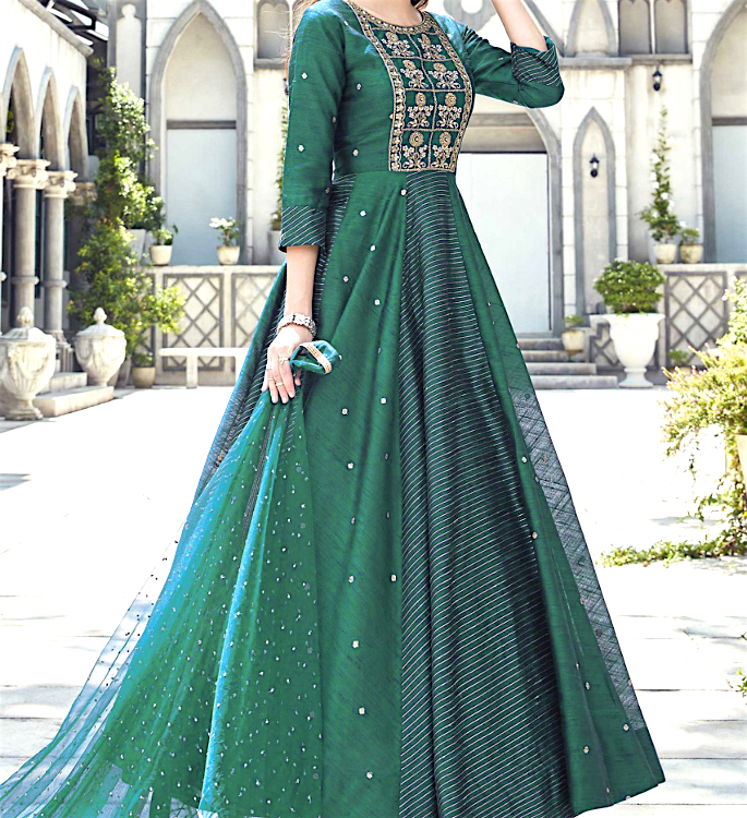 Ways to Recycle your Lehenga and Saree - anarkali