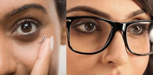 Wear Glasses not Contact Lenses during COVID-19 say Doctors f
