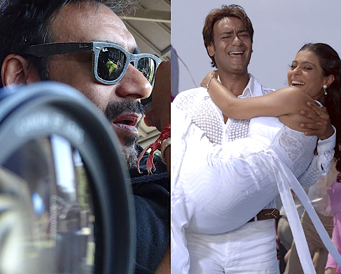 Which famous Bollywood Actors Directed Themselves? - Ajay Devgn