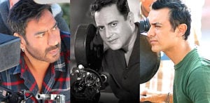 Which famous Bollywood Actors Directed Themselves? F