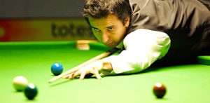 Who won the first Snooker Gold Medal in Cue Sports? F