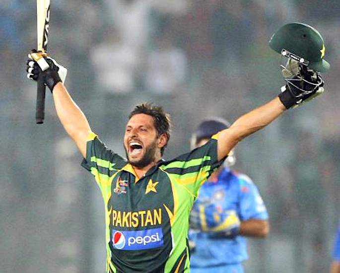 10 India vs Pakistan Cricket Thrillers to Watch - Shahid Afridi