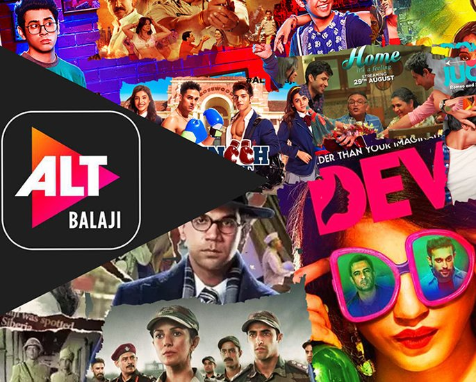 16 Top Web Streaming Platforms in India - altbalaji