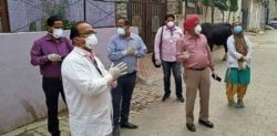 65-year-old Indian Man forces 38 Medical Staff in Quarantine