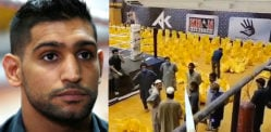 Amir Khan donates Food Bags to Pakistan's COVID-19 Needy