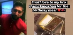 Amir Khan hosts Home Birthday Party for 5 amid Lockdown