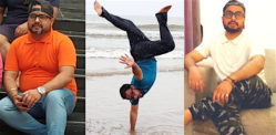 Anubhav Kumar's incredible Weight Loss Transformation