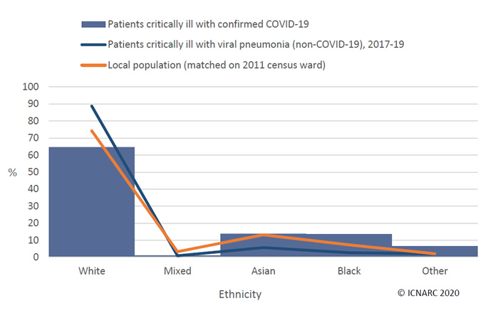 Are Ethnic Minorities more at Risk from Coronavirus - chart