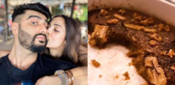 Arjun Kapoor shares a picture of His Sweet Treat from Malaika