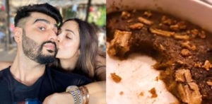 Arjun Kapoor shares a picture of His Sweet Treat from Malaika f