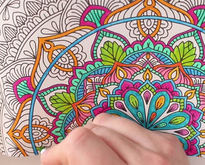 Arts & Crafts Ideas for Adults during Lockdown - mandala