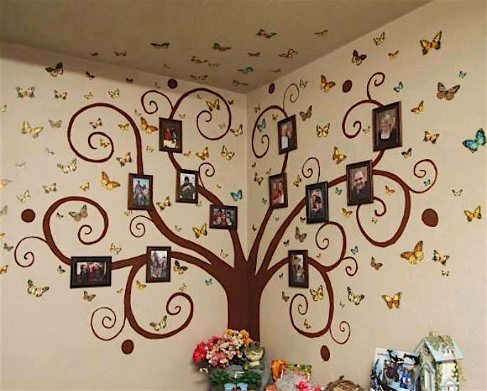 Arts & Crafts Ideas for Adults during Lockdown - wall