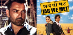 Bobby Deol says Kareena replaced Him with Shahid Kapoor in 'Jab We Met'