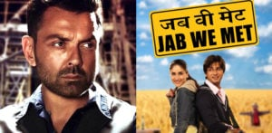 Bobby Deol says Kareena replaced Him with Shahid Kapoor in 'Jab We Met' f