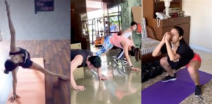 Bollywood Stars Best Fitness Videos during Lockdown f