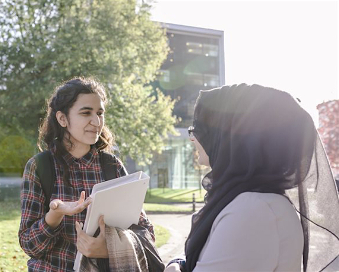 Careers and Support at Aston University for BAME Students - girls