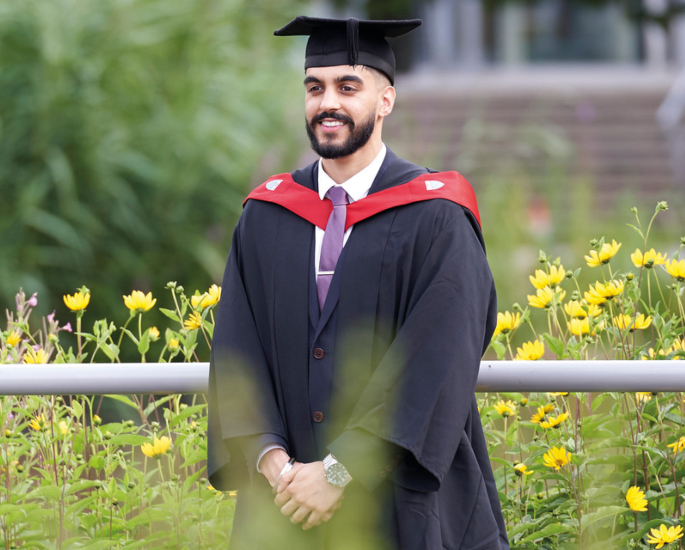 Careers and Support at Aston University for BAME Students - graduation