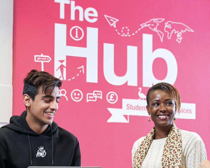 Carriere e supporto presso la Aston University per gli studenti BAME - hub