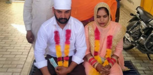 Cops marry Indian Man to Girlfriend He Tried to Cheat f