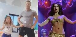 کریکٹر ڈیوڈ وارنر اور بیٹی نے 'شیلا کی جوانی' پر رقص کیا