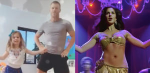 Cricketer David Warner & Daughter dance to 'Sheila Ki Jawani' f
