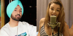 Diljit Dosanjh praises Nesdi Jones for Her Desi Singing