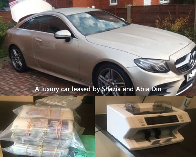 Gangster Sisters used 'Beauty Booth' for Money & Drugs Racket - car