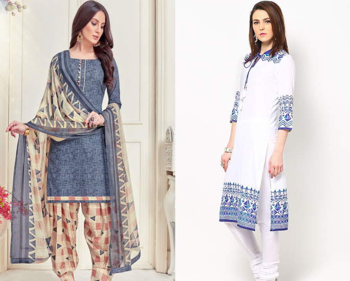 How Working at Home will affect Fashion - salwar kameez