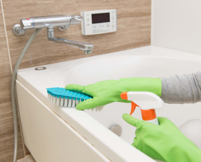 How to Clean & Disinfect Your Home during a Virus - bathroom