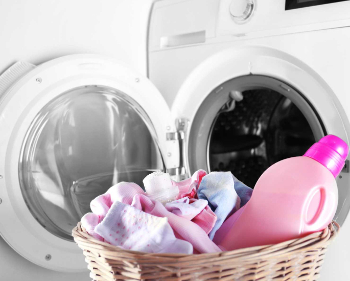How to Clean & Disinfect Your Home during a Virus - laundry